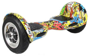 "Skque 10"" Graffiti Hoverboard"