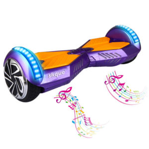 "Skque 6.5"" Hoverboard with Bluetooth Speakers"