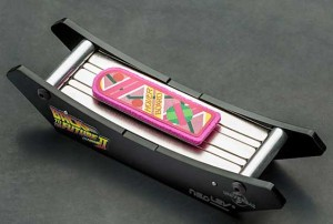Floating Hoverboard Desk Toy Back to the Future II
