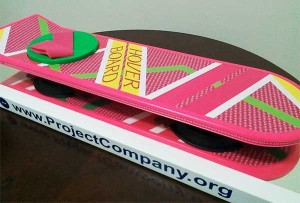 Full Size Floating Hoverboard Display