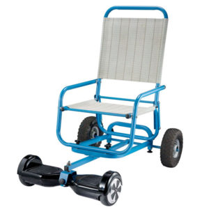 Come Sitting Hoverboard Cart with Chair