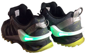 Flashing LED Shoe Lights for Hoverboard Riding
