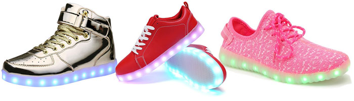 Hoverboard Shoes - LED Light Up Sneakers