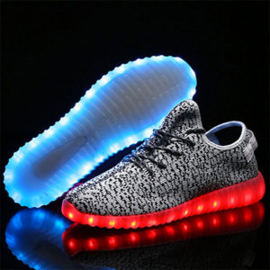Joansam LED Sneakers Hoverboard Shoes