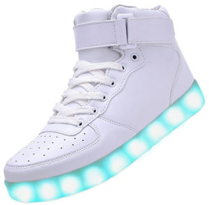 Odema High Top LED Hoverboard Shoes