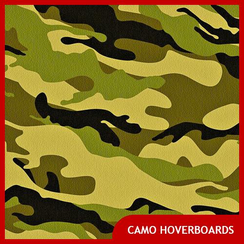 Best Camo Hoverboards & Skins